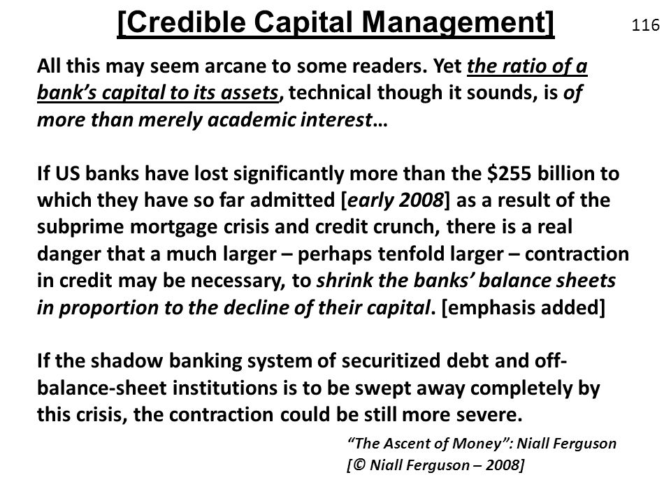 [Credible Capital Management]